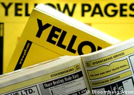 Yellow Pages:  End of the Print Era in the UK