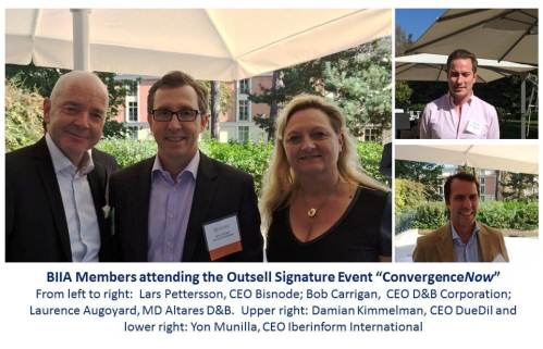 BIIA members at Outsell Signature event 600x330