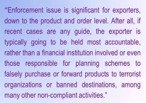 Compliance Exporting