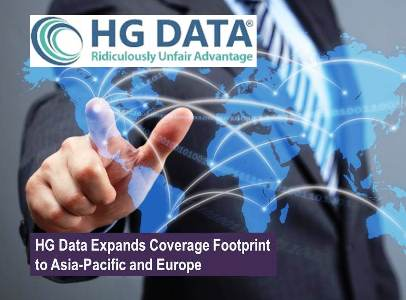 HG Data Expands Coverage Footprint to Asia-Pacific and Europe