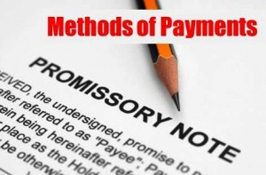 Methods of Payments300