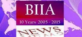 BIIA Newsletter February II – 2015
