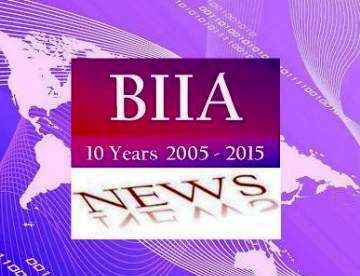BIIA Newsletter April I – 2015 Isssue