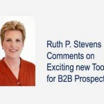Ruth P Stevens comments on prospecting