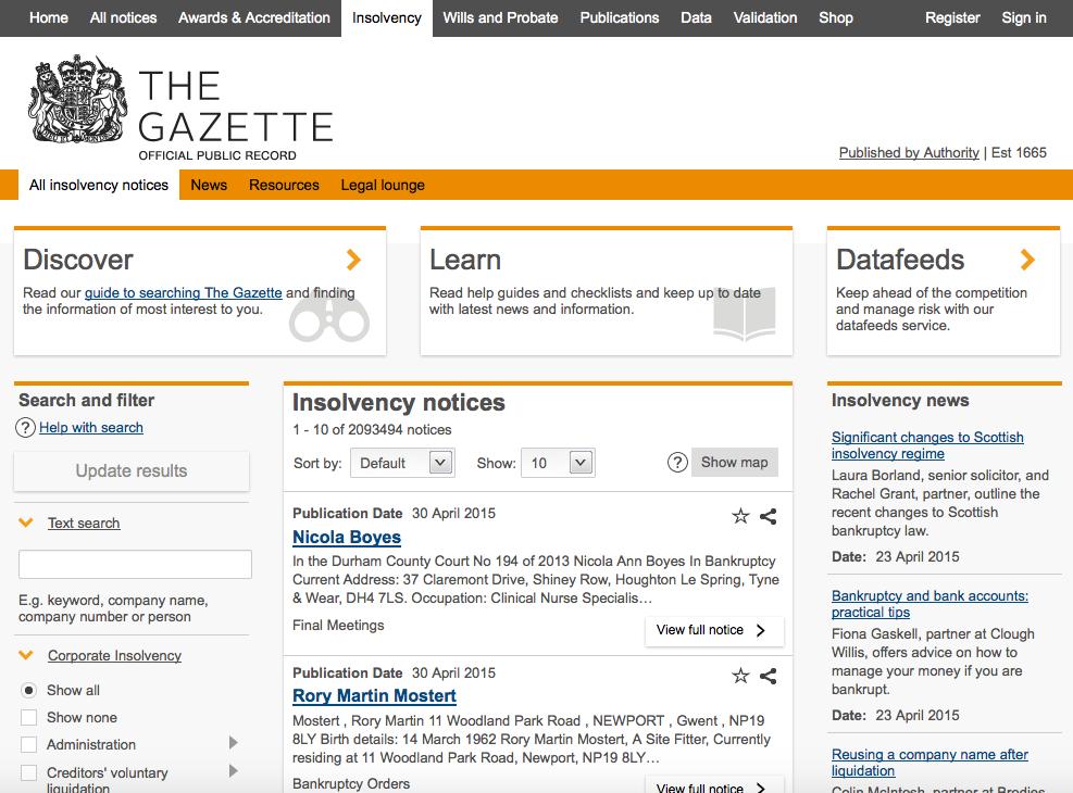 Encompass the Gazette