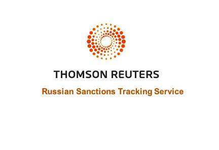 Thomson Reuters Launches Russian Sanctions Tracking Service
