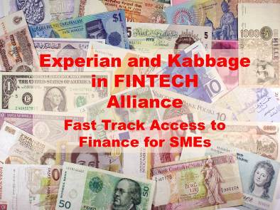 Experian and Kabbage in Strategic Alliance