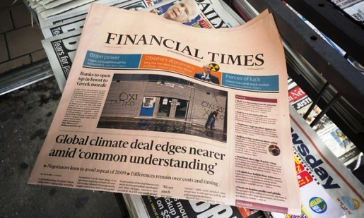 Nikkei to Buy the Financial Times in a Landmark Deal