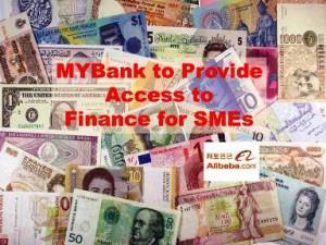 SME access to Finance MYbank 300