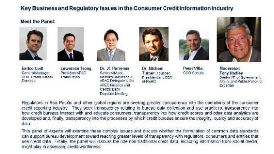 Consumer Credit Information:  One of 10 Compelling Reasons for Attending the BIIA 10th Anniversary  Conference