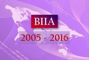 BIIA 2005 - 2016