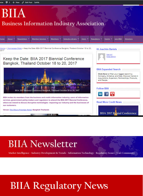 BIIA Information Resources