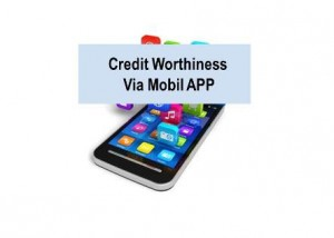 Credit worthiness via APPS