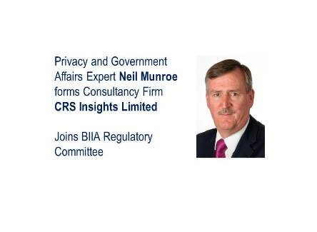 Regulatory Expert Neil Munroe Joins BIIA Regulatory Committee