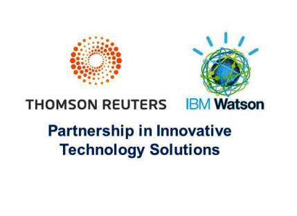 Thomson Reuters and IBM Collaborate to Deliver Watson Cognitive Computing Technology