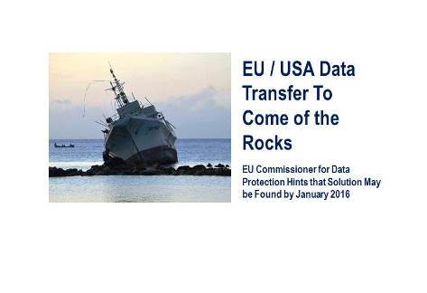 EU / USA Safe Harbor Concept May Come Off the Rocks by January 2016
