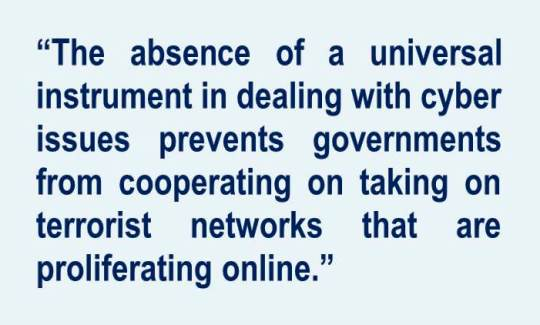 Cyber security and global terror