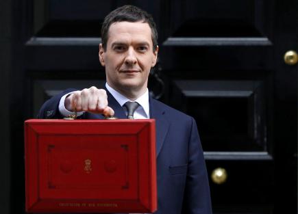 Osborne UK chancellor