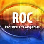 ROC acronym word speech bubble illustration