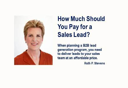How Much Should You Pay for a Sales Lead?