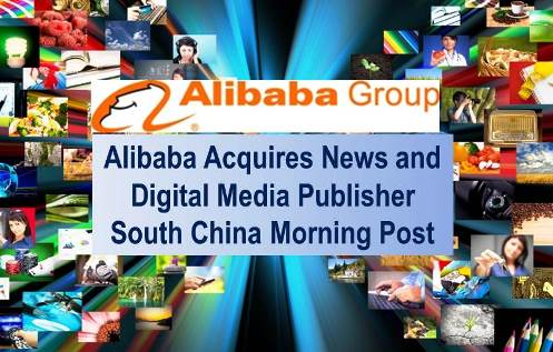 Alibaba Group Acquires SCMP for HK$2.06 billion