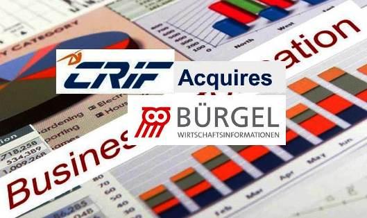 CRIF Enters Germany – Acquires Bürgel Wirtschaftsinformationen