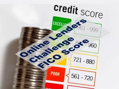 Online Lenders challenge FICO Score AA