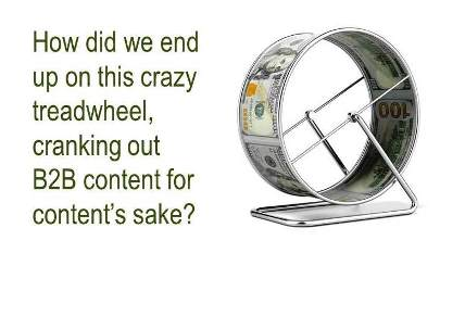 Attention, Hamsters! Get off the Content Treadwheel