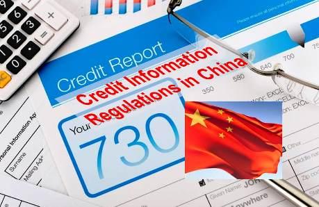 Credit Informaiton Regulations in China