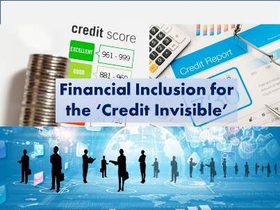 Financial Inclusion Credit Invisible 300