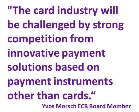 Mersch ECB Quote on card payments