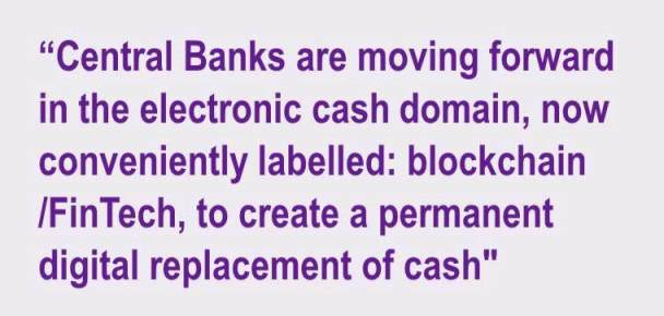 Central Banks on digital currency