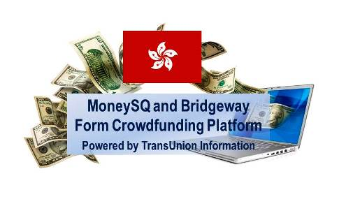 MoneySQ and Bridgeway form Hong Kong's First Crowdfunding Platform