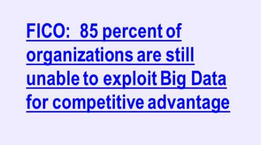 FICO Quote BIG Data