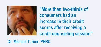 Perc quote on credit councelling