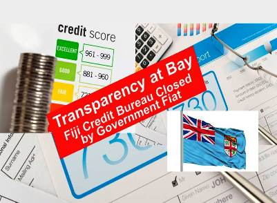 Fiji Credit Bureau Shutdown:  World Bank 'Doing Business' Index Drops from 79 to 159