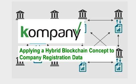 Kompany.com:  Innovative Approach in Using Blockchain Concept to Track Company Registration Information