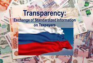 Russia Transparency Exchange of Tax information
