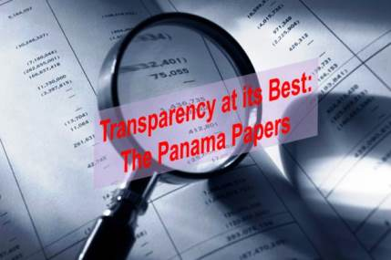Transparency at its Best:  Panama Papers Database Open to the Public