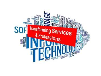 The March of the Machines: Transforming Services & Professions