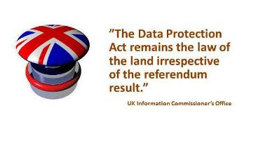 BREXIS Impact on UK Data Protection Legislation