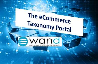 Announcing the WAND eCommerce Taxonomy Portal