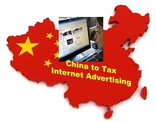 China Taxes Internet Advertising