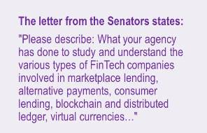 Senate letter to Fed Res on blockchain