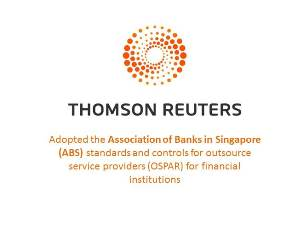 Compliance Services:  Thompson Reuters Alignment with Singapore Banks' Know Your Customer Practices