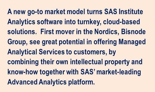 Bisnode quote August SAS Partnership
