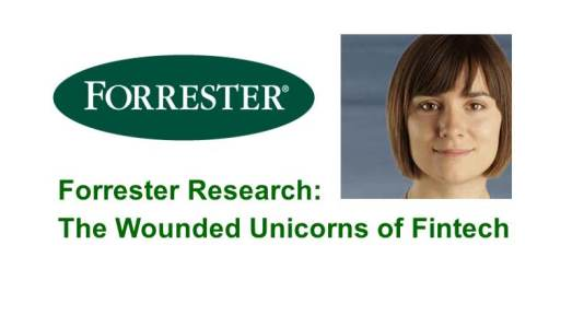 Forrester Research:  The Wounded Unicorns of Fintech