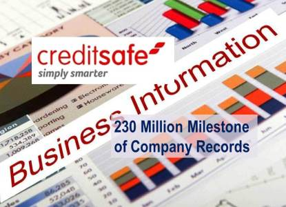 Creditsafe Database Reaches over 230 Million Companies Worldwide
