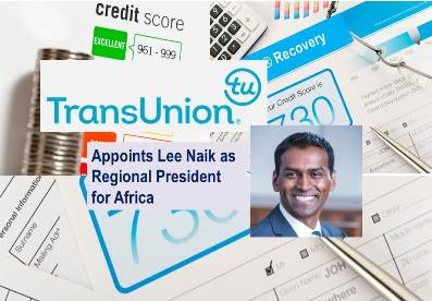 TransUnion Appoints Lee Naik as Regional President for Africa