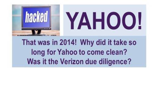 Yahoo Hacked with 500 million Accounts Stolen